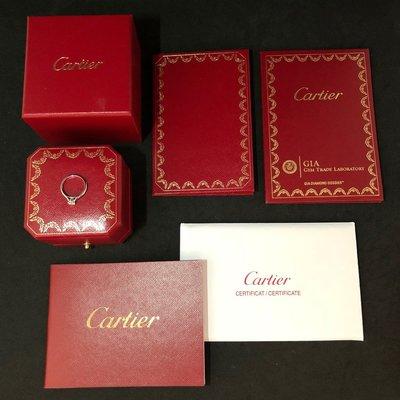 感謝收藏《三福堂國際珠寶1201》Cartier 1895 SOLITAIRE 鑽戒3EX