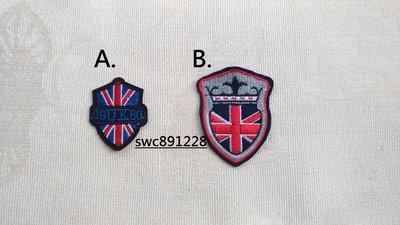 手縫英國風徽章布貼、補丁、臂章、胸章、布飾--B260(A) 台中市