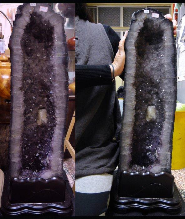 [福田工藝]紫水晶洞淨重31公斤[晶洞7]
