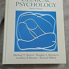 【紫晶小棧】《Introduction to clinical psychology》ISBN:013098082X