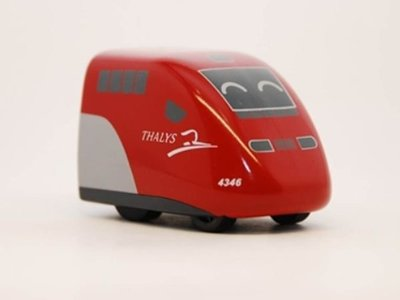 TRAIL 鐵支路 Q版 迴力車 荷比法THALYS (大力士高速列車) QV042