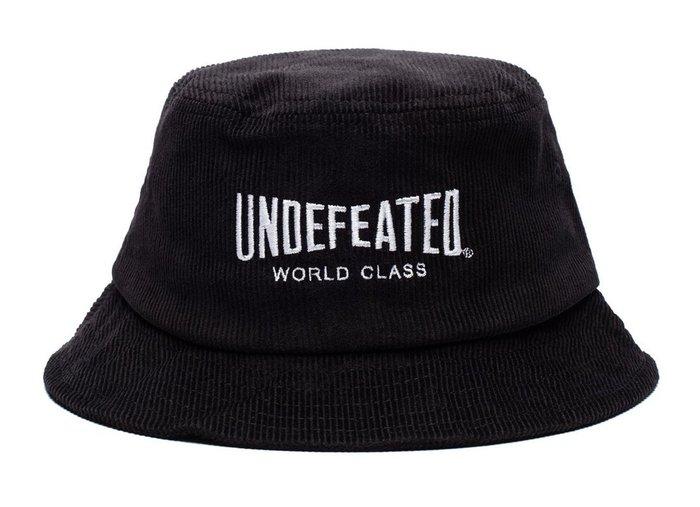 【超搶手】 全新正品 2015 秋冬 UNDEFEATED WORLD CLASS BUCKET HAT 漁夫帽 黑色