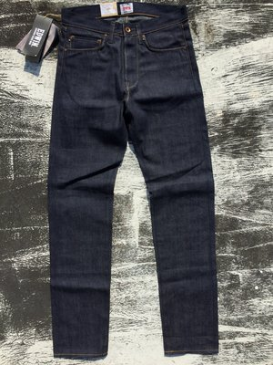 《Classic Hunter》全新日本Edwin【頂級ED-49『Unwashed』日產紅線布邊牛仔褲】32x32