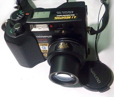 ☆手機寶藏點☆ Olympus C-4040Z 黑 類單眼 數位相機 功能正常 貨到付款 咖68