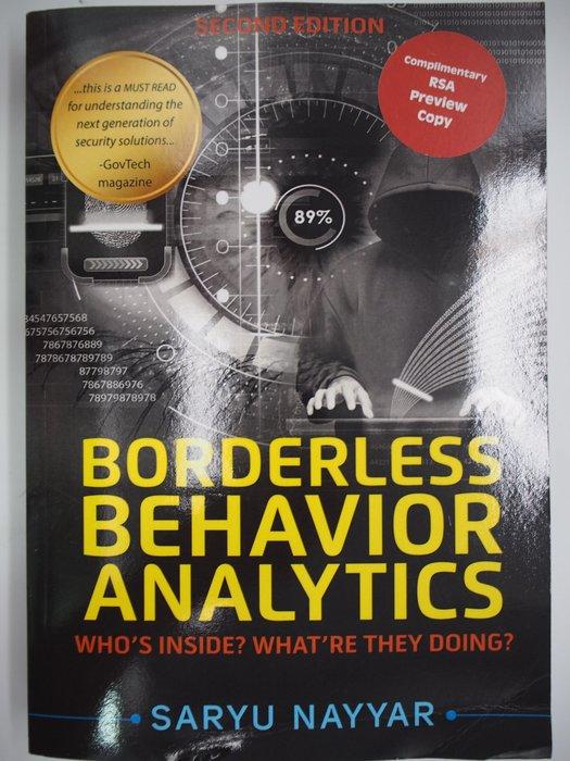 【月界】Borderless Behavior Analytics-2/e_Saryu Nayyar 〖電腦網路〗AJA