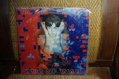 【大目標LP精品】DAUL MCCARTNEY  TUG OF WAR