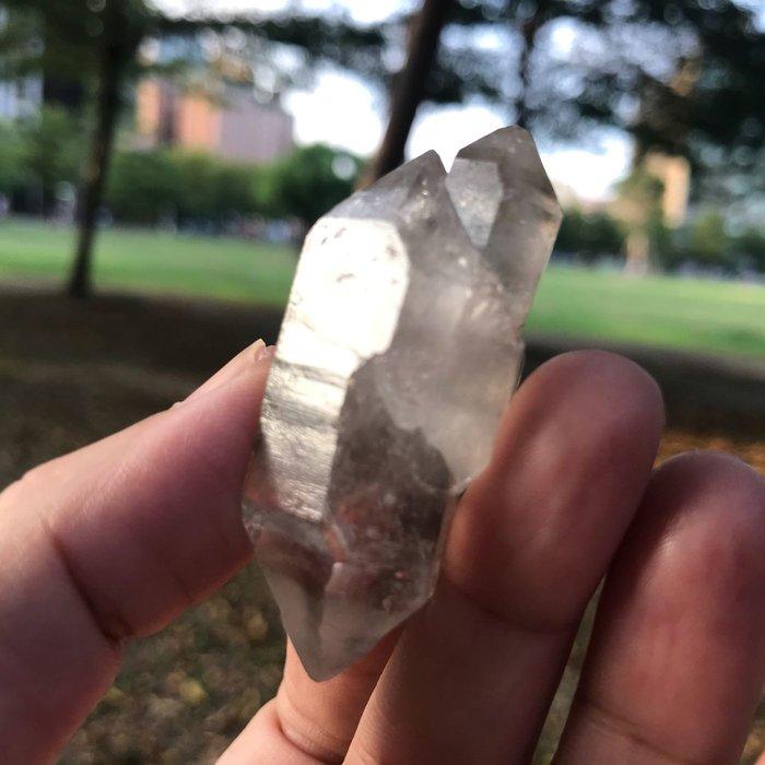 權杖水晶 小骨幹 逆權杖水晶 雙尖水晶 靈修 瑜珈 冥想 T1306