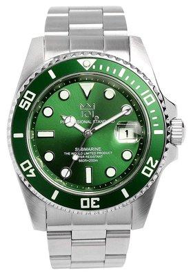 日本正版 HYAKUICHI 101 hyaku1-001 綠色 男錶 男用 手錶 夜光 SEIKO機芯 日本代購