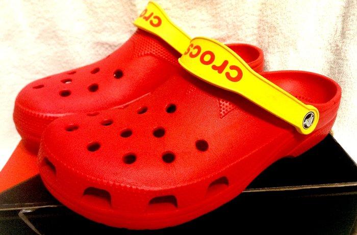 Crocs卡駱馳男鞋 彈性Gore面料 防滑 穿脫自如懶人鞋 沙灘鞋 拖鞋 雨鞋 涼鞋 洞洞鞋 布希鞋 全新正品有發票