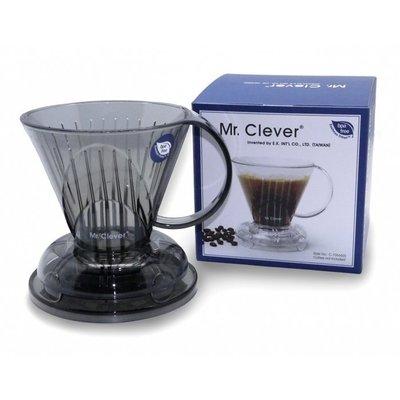 阿提卡*Mr. Clever 聰明濾杯/手沖咖啡】 (L)大容量1~7杯份+專用濾紙(L)100入+100G精選咖啡