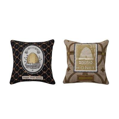 【Eze Art Deco】美國設計師傢飾,美式蜂巢圖案刺繡抱枕(兩款) 靠枕/抱枕/靠墊/枕頭/腰枕 送禮民宿擺飾居家