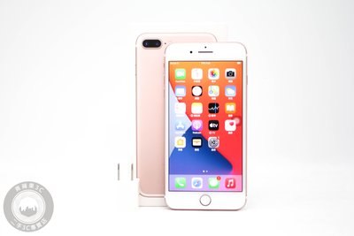 【高雄青蘋果3C】Apple iPhone 7 Plus 玫瑰金 128G 128GB 二手手機 #56999