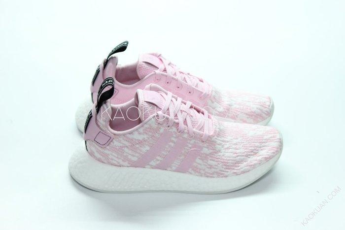 【高冠國際】Adidas NMD R2 PK 粉 白 玫瑰 雪花 櫻花粉 BY9315