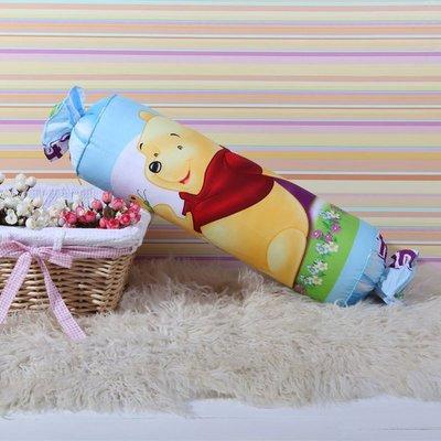 10款 Winnie 迪士尼 糖果枕 卡通抱枕 全棉靠枕~小熊維尼 20~60CM