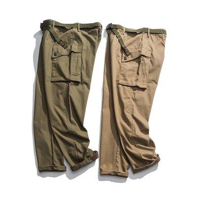 ∵ PRAY FOR FASHION ∴美式復古阿美咔嘰軍事風P44改良版cargo工裝褲
