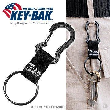 【angel 精品館 】 KEY BAK 登山鐵鎖型鑰匙圈 / 單個販售 0308-201