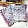 ✿小布物曲✿ 百分百純棉二重紗-花草 印花布 窄幅110CM 韓國進口質感優 單價 口罩