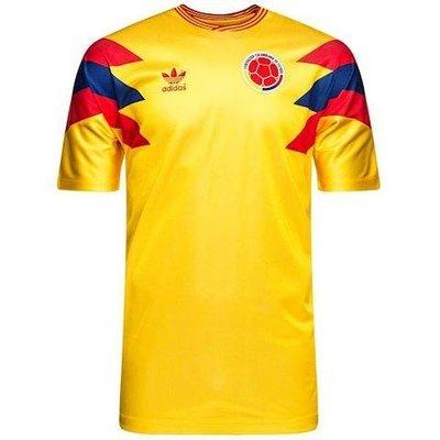 愛迪達 ADIDAS COLOMBIA JERSEY 男生 世足 哥倫比亞 足球球衣 CE2338