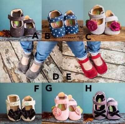 【Gracious May】美國純手工嬰兒學步鞋 女鞋款
