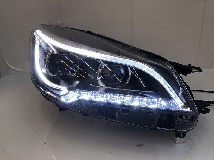 合豐源 車燈 福特 KUGA 13 14 15 16 17 魚眼 LED 導光 大燈 頭燈 翼虎 雙色 日行燈 方向燈