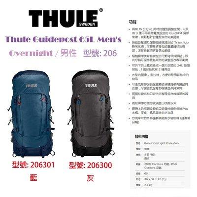 【eYe攝影】都樂 Thule Guidepost 65L Men's 206 Overnight 登頂背包 調整身型