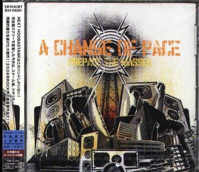 K - Change Of Pace - Prepare the Masses - 日版 +1BONUS - NEW