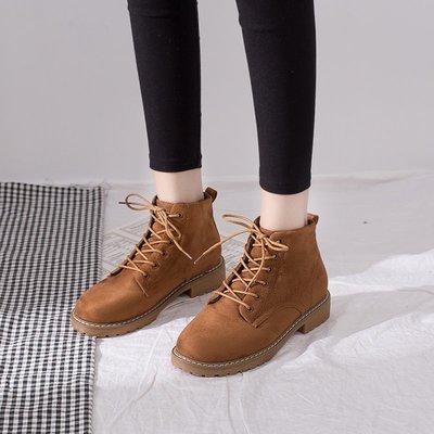 女靴內增高女靴白色女靴子潮牌女靴大尺碼女靴精品女靴鮀品加絨ins馬丁靴女英倫風網紅短靴子新款百搭韓版秋冬女鞋