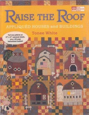 【傑美屋-縫紉之家】美國拼布紙型書籍#RAISE THE ROOF提高屋頂 #712