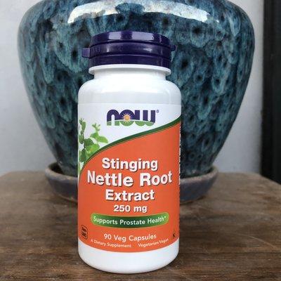 健康活力站~22.7Now Foods stinging Nettle root 刺蕁麻根提取物 250mg90粒