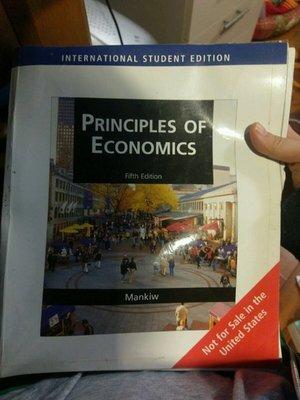 自有書 經濟學原理 Principles of economic | N. Gregory Mankiw