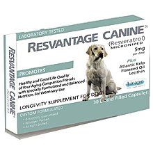 RESVANTAGE CANINER 美國微米化白藜蘆醇 犬用 30顆膠囊