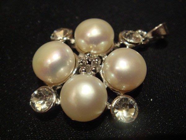 賣家珍藏,全新從未戴過天然浪漫淡水養珍珍珠墜子,低價起標無底價!本商品免運費!