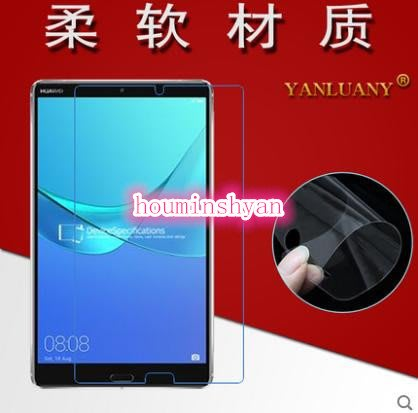 華為HUAWEI MediaPad M5 10.8吋 亮面保護貼 保貼 高透光 靜電吸附不殘膠