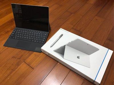 Surface Pro 4 I7/8G/256G 盒裝配件皆有 藍牙鍵盤 手寫筆 I7版本 微軟平板