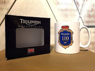 凱旋 英國進口 原廠 triumph 110週年紀念 馬克杯 t100 bonneville cafe 咖啡 重機