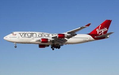 **飛行夢想家**GeminiJets 1:200 維珍航空 Virgin Boeing 747-400 G-VXLG