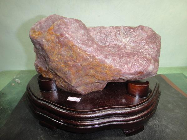 【競標網】珍貴天然罕見巴西草莓晶原礦2.61公斤(贈台製木座)(網路特價品、原價2700元)限量一件