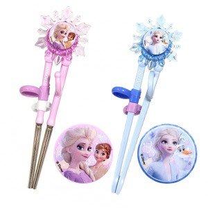 ♀高麗妹♀韓國 Disney FROZEN II 冰雪奇緣2 第1階段練習筷.學習筷.幼童學習餐具(2色選)預購