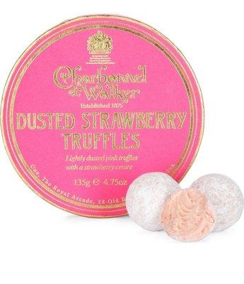 英國 CHARBONNEL ET WALKER Strawberry truffles 松露草莓巧克力 135g 預購