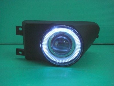 ☆小傑車燈家族☆全新外銷限量超炫版BMW E39 黑框光圈魚眼霧燈特價供應