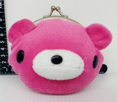 【日本帶回】 暴力熊 Gloomy Bear 可愛 錢包 零錢包 玩偶 絨毛 娃娃 嬰兒 寶貝 媽咪 幼兒 兒童