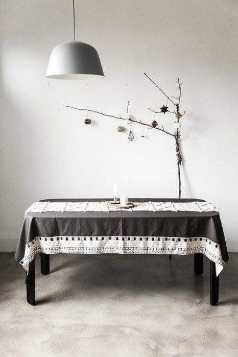 Meiprunus △ 原創 設計 北歐 歐美 棉麻 流蘇 餐桌布 桌巾 沙發布(L)136cm*260cm