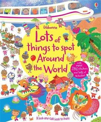 *小P書樂園* Lots of Things to Spot Around the World 找找書