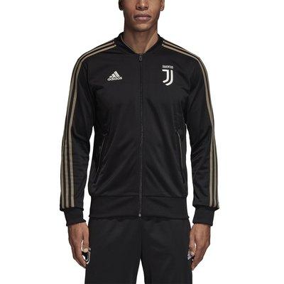 ADIDAS 男 Juventus 足球 限量 尤文圖斯 慢跑 訓練 針織外套 立領夾克 CW8750 黑金 現貨