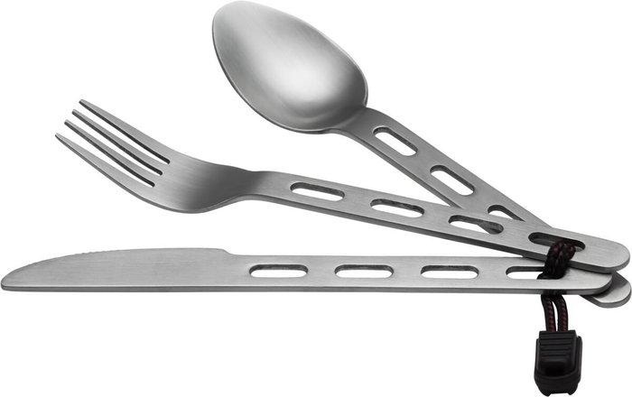 =CodE= MCKINLEY CUTLERY STAINLESS STEEL 不鏽鋼餐具組(銀) BESTECK 露營