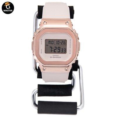 西西韓國專賣~CASIO卡西歐G-SHOCK金屬小方塊復古手錶女GM-S5600-1/S5600PG-1/4