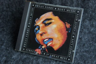CD / Bryan Ferry - Roxy Music  - Streetlife 20 Great Hits