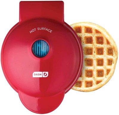 【EASY_BUTY】{現貨} 美國 DASH 迷你鬆餅機 Mini Waffle Maker 紅色 代購 特惠$777