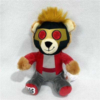 銀河護衛隊GUARDIANS OF THE GALAXY火箭浣熊毛絨公仔玩具布娃娃