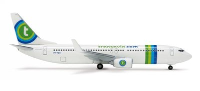 B737-800 Transavia new colors Registered:PH-HZL 荷蘭 泛航航空 絕版品